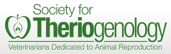 Image: Society for Theriogenology Logo. Click to follow the link.